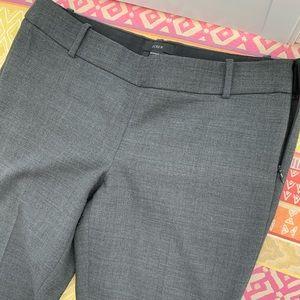 J.Crew Grey Minnie skinny pant